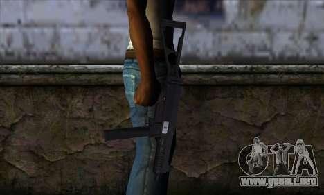 UMP45 v2 para GTA San Andreas tercera pantalla