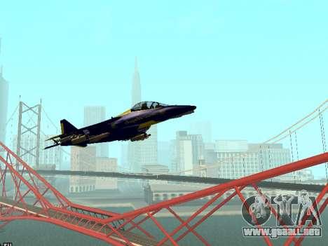 BlueAngels Hydra para GTA San Andreas left