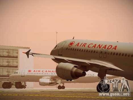 Airbus A320-214 Air Canada para las ruedas de GTA San Andreas