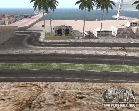 La textura de Los Santos de GTA 5 para GTA San Andreas octavo de pantalla