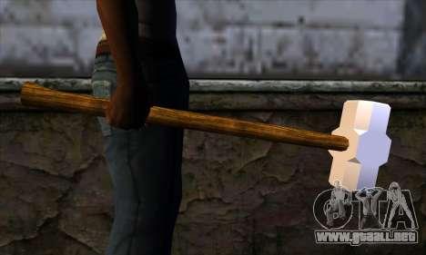 Maza para GTA San Andreas tercera pantalla