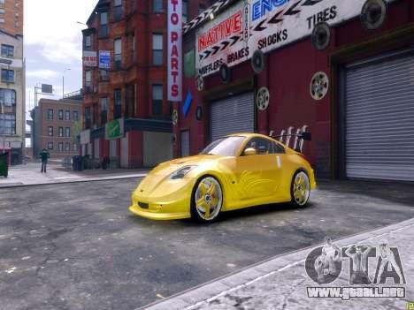 Nissan 350Z Fast And Furious Tokyo Drift para GTA 4 left