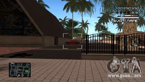 C-HUD Minimal para GTA San Andreas segunda pantalla