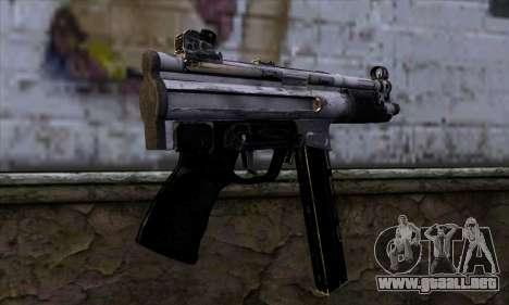 Tec9 from Call of Duty: Black Ops para GTA San Andreas segunda pantalla