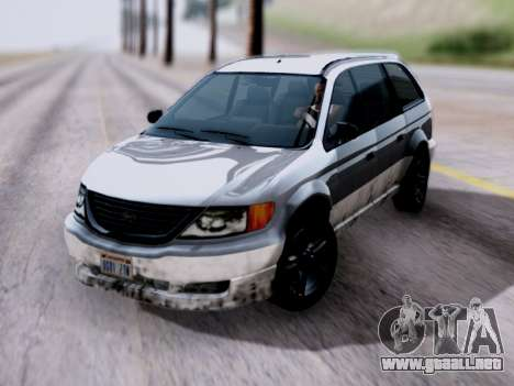 GTA V Minivan para GTA San Andreas