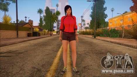 Modern Woman Skin 14 para GTA San Andreas