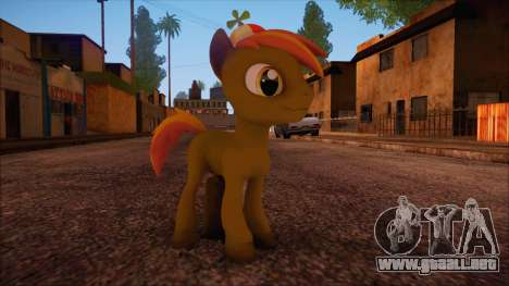 Button Mash from My Little Pony para GTA San Andreas