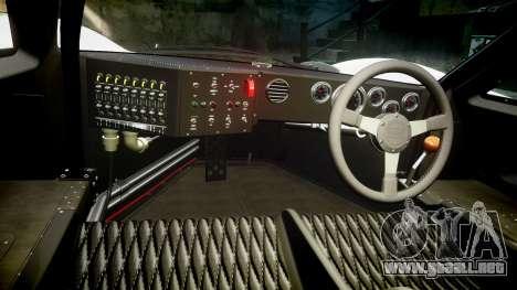 Ford GT40 Mark IV 1967 PJ Oilzanol 38 para GTA 4 vista hacia atrás