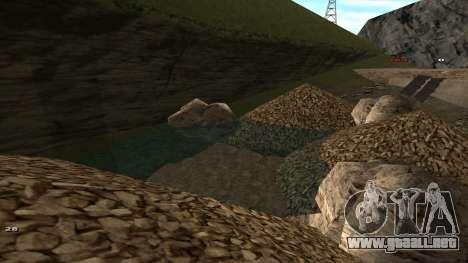 Трасса Offroad v1.1 por Rappar313 para GTA San Andreas octavo de pantalla