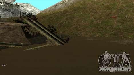 Трасса Offroad v1.1 por Rappar313 para GTA San Andreas undécima de pantalla