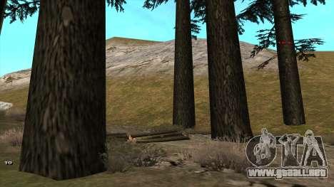 Трасса Offroad v1.1 por Rappar313 para GTA San Andreas tercera pantalla