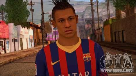 Neymar Skin para GTA San Andreas tercera pantalla