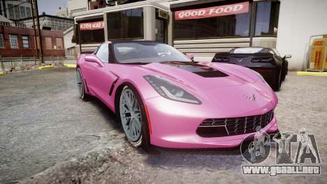 Chevrolet Corvette Z06 2015 TirePi1 para GTA 4