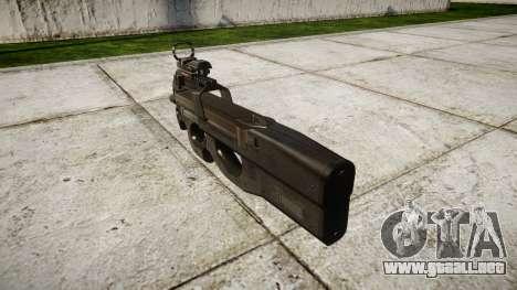 Belga subfusil FN P90 destino para GTA 4 segundos de pantalla