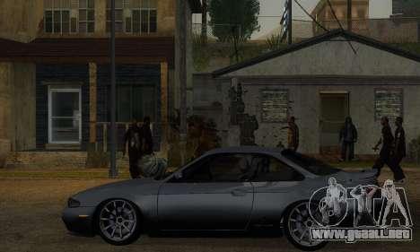 Nissan Silvia S14 Zenki Drift para GTA San Andreas vista posterior izquierda
