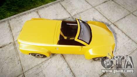 Chevrolet SSR para GTA 4 visión correcta