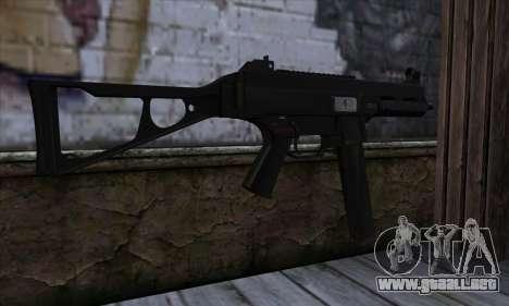 UMP45 v2 para GTA San Andreas segunda pantalla