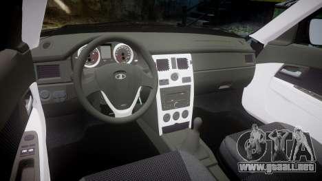 ВАЗ-2170 Lada Priora de stock para GTA 4 vista interior