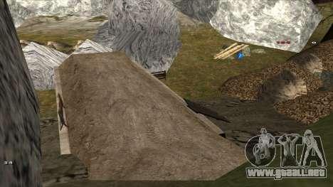 Трасса Offroad v1.1 por Rappar313 para GTA San Andreas novena de pantalla