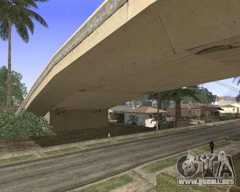La textura de Los Santos de GTA 5 para GTA San Andreas tercera pantalla