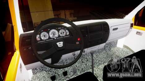 GAZ-3221 Gacela para GTA 4 vista interior