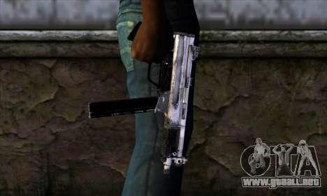 Tec9 from Call of Duty: Black Ops para GTA San Andreas tercera pantalla