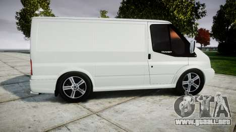 Ford Transit 2011 SuperSportVan para GTA 4 left