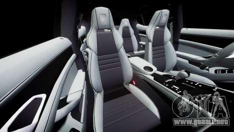 Porsche Panamera GTS 2014 para GTA 4 vista lateral