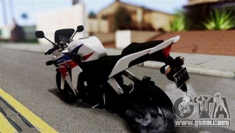 Honda CBR150FI para GTA San Andreas left