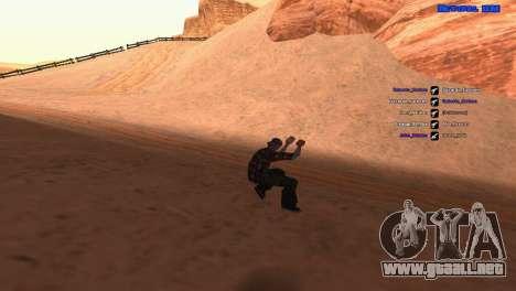 ped.ifp por Pavel_Grand para GTA San Andreas segunda pantalla