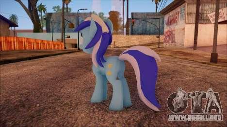 Colgate from My Little Pony para GTA San Andreas segunda pantalla