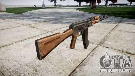 El AKM para GTA 4 segundos de pantalla