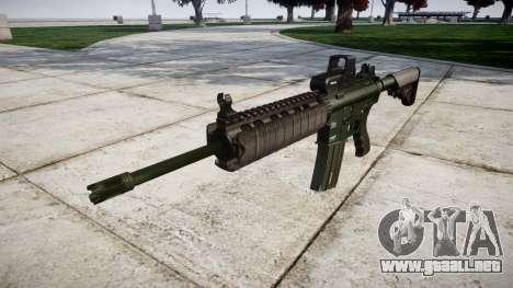 Máquina M4A1 destino para GTA 4