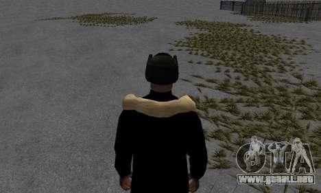 Chaqueta de invierno para GTA San Andreas tercera pantalla