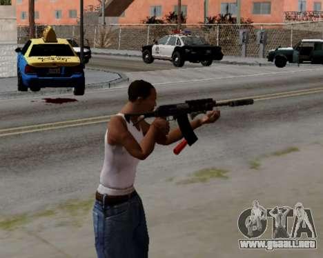Heavy Shotgun GTA 5 (1.17 update) para GTA San Andreas tercera pantalla