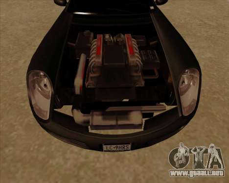 Stinger para visión interna GTA San Andreas