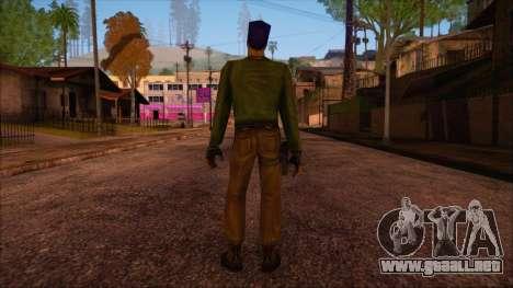 Leet from Counter Strike Condition Zero para GTA San Andreas segunda pantalla