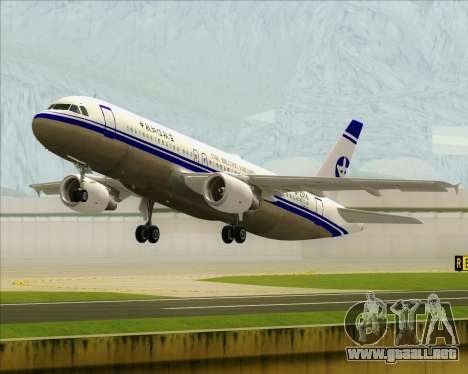 Airbus A320-200 CNAC-Zhejiang Airlines para GTA San Andreas