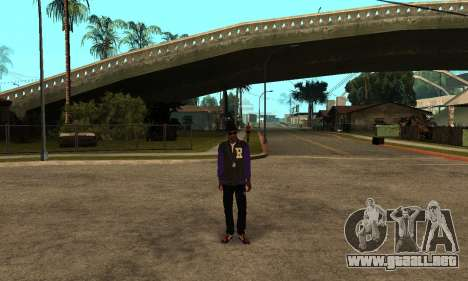 The Ballas Skin Pack para GTA San Andreas tercera pantalla