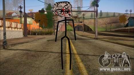 Skin de Meme Troll Golpiado para GTA San Andreas