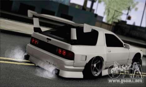 Mazda FC3S para GTA San Andreas left