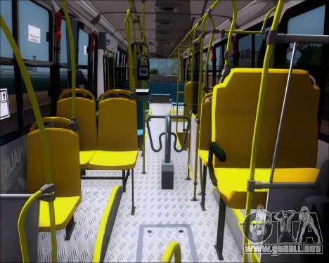 Marcopolo Torino G7 2007 VEGA Manaus 1011049 para visión interna GTA San Andreas