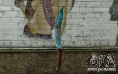 Cuchillo de diamante para GTA San Andreas