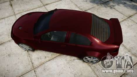 Vexter XS para GTA 4 visión correcta