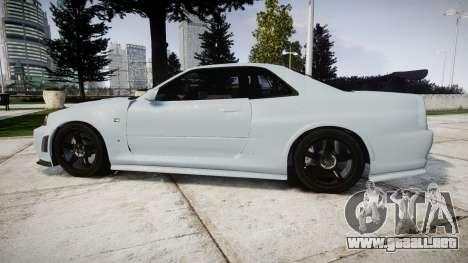 Nissan Skyline R34 GT-R NISMO Z-tune [RIV] para GTA 4 left
