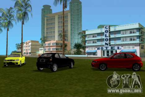 Daewoo Lanos Sport NOSOTROS 2001 para GTA Vice City vista superior