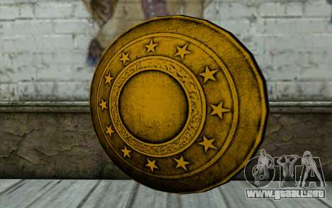 Old Gold Shield para GTA San Andreas