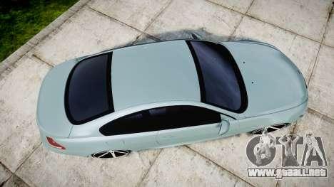 BMW M6 Vossen VVS CV3 para GTA 4 visión correcta
