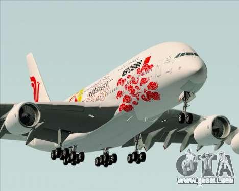 Airbus A380-800 Air China para el motor de GTA San Andreas