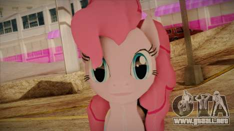 Pinkie Pie from My Little Pony para GTA San Andreas tercera pantalla